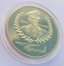 1891 - 1944 German Erwin Rommel Medal Deutsche Wehrmacht Wüstenfuchs