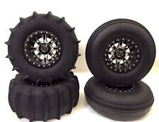 Hiper Desert Rat Beadlock Pro Armor Paddle Tires 14 Front Rear RZR XP Turbo 1000