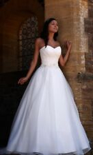 Romantica Claudette Wedding Dress 12 Sweetheart Neckline & Beaded Waist