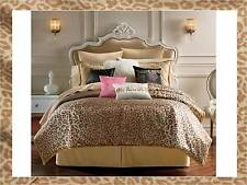 JUICY COUTURE COMFORTER Set ANIMAL INSTINCT LEOPARD 2 pc set NEW!