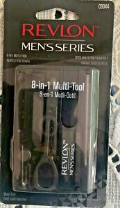 Revlon Men's Series 8-in-1 Multi Tool Kit 03044 Gift Stocking Stuffer