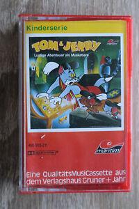 1 MC AC Kassette Hörspiel Tom & Jerry MARITIM Lustige Abenteuer als Musketiere +