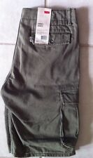 "New w/$50 tag Mens Levi's Cargo shorts Sz 31 Ins10"" NWT Flap pockets white tab"