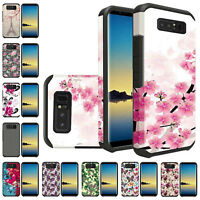 For Samsung Galaxy Note 8 Shock Proof Slim Armor Tough Hybrid Design Cover Case