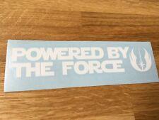 Star Wars Inspiré propulsé par la force de Voiture Autocollant Vinyle Autocollant
