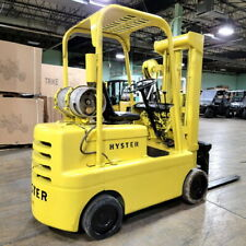 Hyster Forklift 6000 Lift Cap Heavy Duty Propane Forklift With 2660 Hrs 3 S