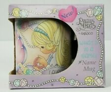 Precious Moments Collection What's In A Name Mug Lauren 1997 New In Box Enesco