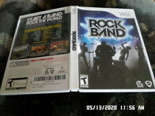 Rock Band (Nintendo Wii) Complete w/ Case & Manual