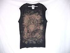 House of Blues XL Childrens Black Sleeveless T-Shirt New Without Tags
