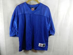Alleson Athletic Training Jersey Youth L/XL Blue Football  New
