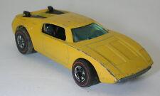 Redline Hotwheels Yellow Enamel 1973 Xploder oc16570