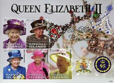 More details for marshall islands 2021 mnh royalty stamps queen elizabeth ii 95th birthday 5v m/s