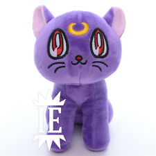 Sailor Moon Luna Peluche Muñeco de Nieve Bunny Cat Gato Usagi Plush Doll Artemis