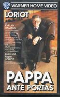 V Loriot  Pappa Ante Portas  Video - VHS Warner home