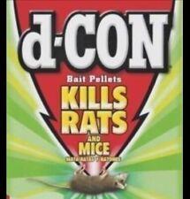 d-CON Mouse / Rat Bulk Pellets 200+ Grams Easy To Use Dependable Bait / Poison