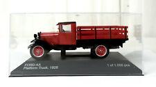 Ford AA Platform Truck 1928 Modell 1:43 Rot/Schwarz - WhiteBox WB290 Limtiert