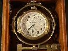 Hamilton US NAVY Marine Chronometer model 22  1941-42