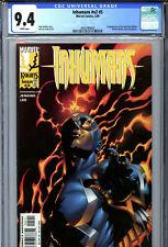 Inhumans #v2 #5 (1999) Marvel CGC 9.4 White 1st New Black Widow Yelena Belova!