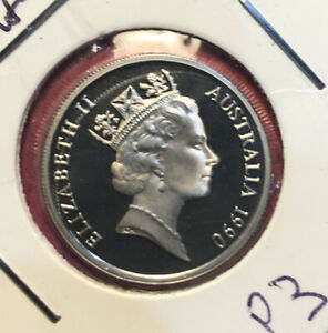 1990 Proof 10 Cent Coin