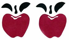 COUNTRY APPLES APPLE KITCHEN PEEL & STICK  WALL STICKERS WALL BORDER CUT OUTS