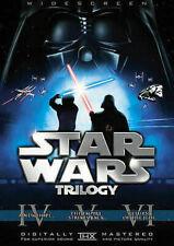 Star Wars Trilogy (DVD, 2008, 6-Disc Set, Widescreen)
