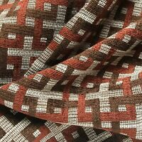 """Mid Century Style Chenille Woven Upholstery Fabric by the Yard - 54"""""""
