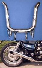 Yamaha V-Max 1200 Marving Slash-Cut 4-2 Chrome Slip-ons