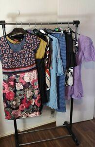 Womens Ladies Clothes Bundle Size 14 Mini Dress Blouse Pants Shirt Top Skirt FF4