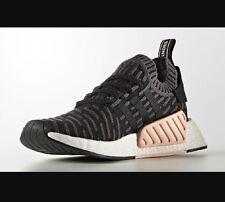 Adidas NMD_R2 PK W Primeknit Black Pink White 7.5 BA7239