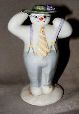 Royal Doulton il pupazzo di neve, Figurina elegante pupazzo di neve ds3 1985