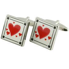 Valentine Cufflinks Love Heart Romance Elegant