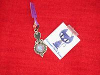 Echter Regenbogen Mondstein Kettenanhänger 925 Sterling Silber Handgefertigt