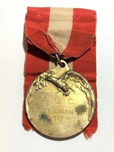 Egypt 1920's American University Cairo AUC Sports Medal 1st Place Bronze 40mm