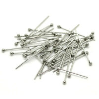 Stainless Steel Silver Ball Head Pins for Diy Jewelry Making Head Pins Findings