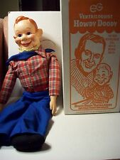 Howdy Doody Ventriloquist Dummy Doll  copyright by the National Broadcasting Co