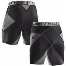Under Armour UA Mens Coreshort Pro 10 inch 1250450-040 BLACK/GREY NEW with Tags