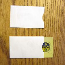 5 TYVEK CREDIT DEBIT CARD PROTECTOR HOLDER SLEEVE ENVELOPES ATM ID GIFT CARD