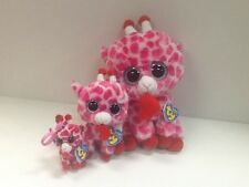TY SET OF 3 JUNGLELOVE BEANIE BOOS-NEW, MINT TAGS, RETIRED,HARD TO FIND-SO CUTE
