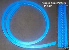 New Concrete Cement textured Rugged Rope Countertop Edging edge Form casting