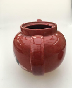 Poole Pottery orange teapot