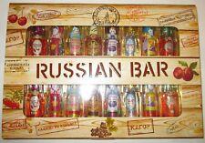 Russian Bar - chocolate candy with liquor - 8 varieties-Set Liqueur 240g 8.5oz