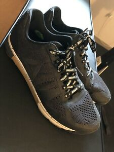 Reebok Crossfit Speed TR 2 Sz 10 Training Shoes Black Gum Caffeine And Kilos