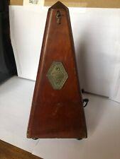ancien metronome bois mecanique clef maelzel assez bonne état