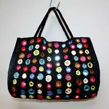 Marion Godart Beaded Mirror Handbag Multicolour