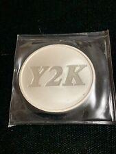 1 Oz Ounce Silver Round Y2K Vintage Art Design .999
