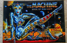 Williams Bride Of Pinbot pinball machine translite