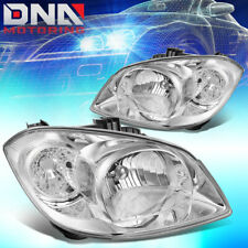 FOR CHEVY COBALT/ G5/PURSUIT CHROME HOUSING CLEAR CORNER HEADLIGHT REPLACEMENT