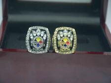 2 Pcs Ring 2005 2005 Pittsburgh Steelers World Championship Ring --/