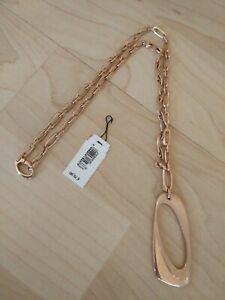 FOSSIL Damen Kette JF83946  lang, Edelstahl Halskette  Anhänger NEU