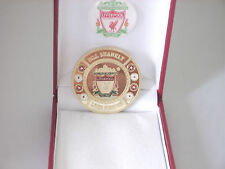100th BIRTHDAY COMMEMORATIVE MEDAL - BILL SHANKLY LIVES FOREVER - BOX & CREST